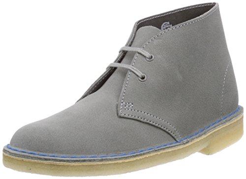 Clarks Desert Boot, Sneaker alta donna, Grigio (Grau (Greystone)), 39.5