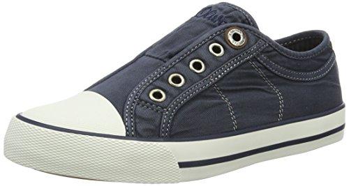 s.Oliver 24635, Sneakers Basses Femme Bleu (NAVY 805)