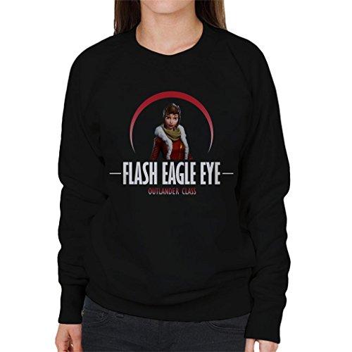Cloud City 7 Fortnite Flash Eagle Eye Outlander Class Women's Sweatshirt (Eagles Frauen Pullover)