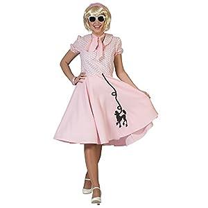 Bristol Novelty AC760caniche vestido, rosa, medium