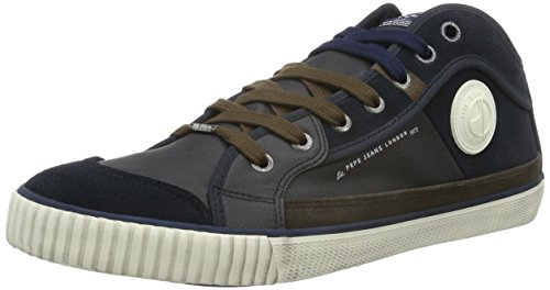 Pepe Jeans London Industry Half, Baskets Mode Homme