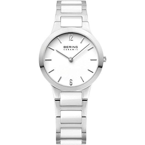 BERING Damen-Armbanduhr Analog Quarz Edelstahl 30329-754