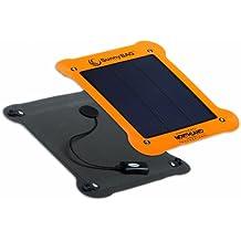 SunnyBAG LEAF Outdoor Solarladegerät, flexibles Solarpanel, inkl. 2.200 mAh Powerbank / Akkupack, gelb