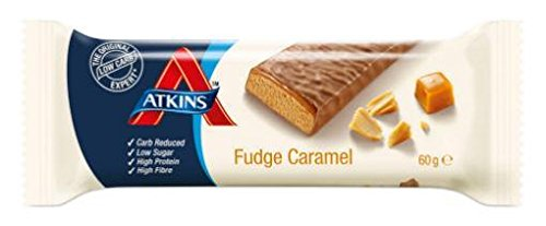 Fudge Caramel Advantage Bar von Atkins 60g -