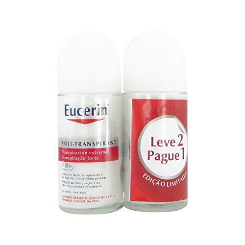 Eucerin Anti Perspirant 48h Roll On 50mlx2
