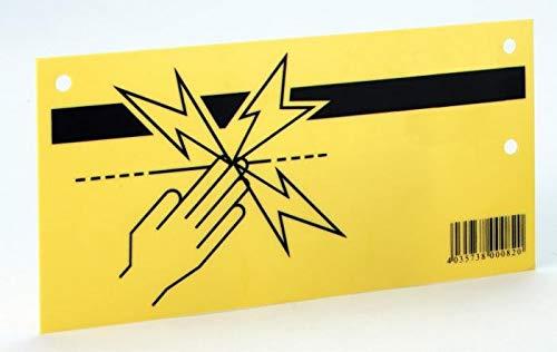 AMA Plaquette de signalisation - clôture électrique