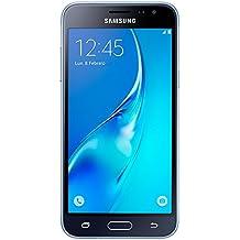 """Samsung Galaxy J3 - Smartphone libre de 5"""" (WiFi, Quad-core 1.2 GHz Cortex-A7, 1.5 GB de RAM, 8 GB de memoria interna, cámara de 8 MP, Android), color negro (versión española)"""