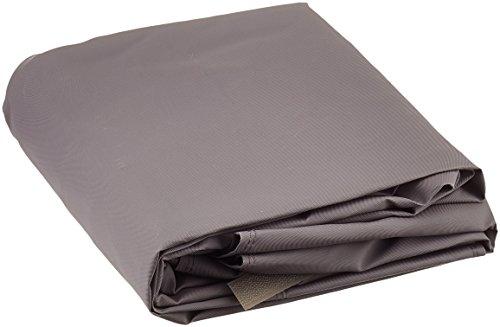 Tepro Universal Grillabdeckhaube 8703 für Gasgrill, klein, 60x100x90cm, taupe | passend für tepro 508C, 3132, 3133, 3157, 3163
