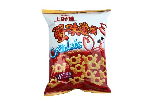 Oishi Crablets Crab Flavour 40g