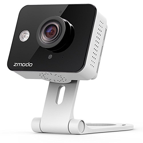 Zmodo Mini WiFi 720p HD Wireless Home Video- Two-Way Audio Sicherheitskamera für den Innenbereich Kamera Sicherheit System Von Zmodo
