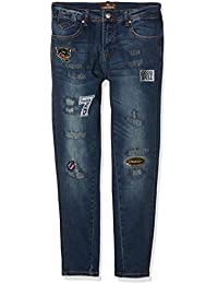 TANTRA Jeans with Sticker and Back Zippers, Vaqueros para Mujer
