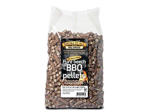 Smoke It All pellet per barbecue legno di faggio 30 kg per griglia o forno affumicatore 63200