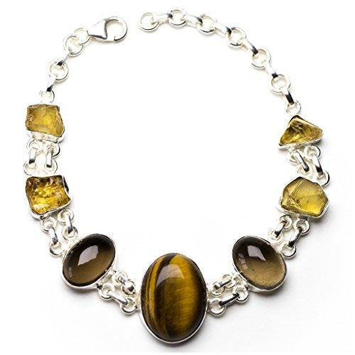 stargems-tm-occhio-di-tigre-naturale-quarzo-affumicato-e-drusy-druzy-925-argento-sterling-braccialet