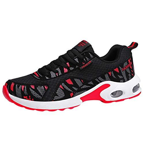 YU'TING ☀‿☀ Sneakers Uomo, Scarpe Running Sneakers Uomo Donna Sport Scarpe da Ginnastica Fitness Respirabile Mesh Corsa Leggero Casual all'Aperto
