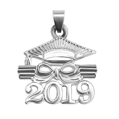 STOBOK 2019 Graduation Cap Diplom Anhänger Zink-Legierung DIY Zubehör für Abschlussgeschenk (Cap Diy Graduation)