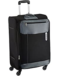 American Tourister Portugal Polyester 79 cms Black Soft Sided Suitcase (AMT Portugal SP 79CM Black)