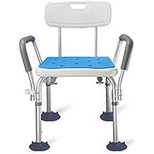 Taburete de baño para ancianos Taburete de baño Taburete para discapacitados para baño Taburete para baño para embarazadas 88 * 48 * 48cm (34.6 * 18.8 * 18.8 inch)