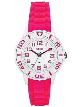 Club Mädchen - Armbanduhr Analog Quarz Silikon Rosa A65174-5H0A