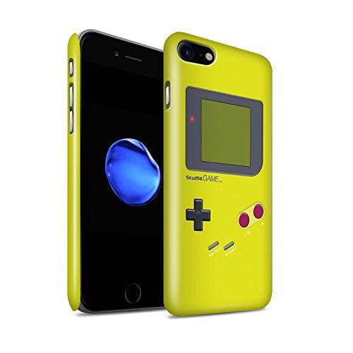 STUFF4 Glanz Snap-On Hülle / Case für Apple iPhone SE / Gelb Muster / Videogamer/Gameboy Kollektion Gelb