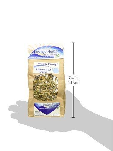 Indigo Herbs - Tiefschlaf bringende lose Blätter Kräutertee Mischung - 50g