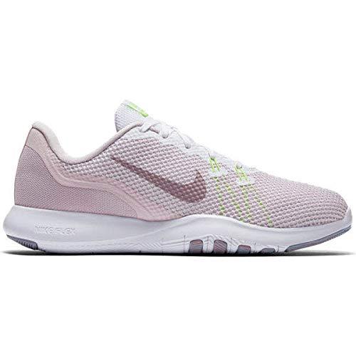 Nike Damen Flex TR 7 Fitnessschuhe, Pink Rosa/Weiß/Gelb, 40.5 EU (Nike Schuhe Flex Trainer)