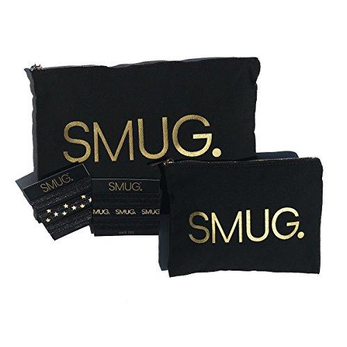 SMUG Active Black & Gold Premium - Cinta para el pelo
