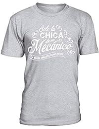 Solo la Chica de un mecánico. Camiseta Hombre bb0e70bd52867