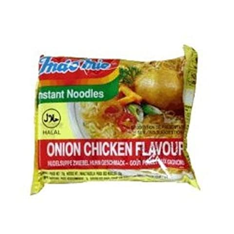 Indo-Mie Instant Noodle Onion Chicken Flavour 70G x 5 packs