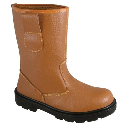 Blackrock Sf01, Calzature Di Sicurezza, Uomo, Nero, 42 EU (8 UK) Marrone (Tan)