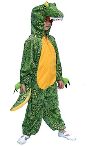 Krokodil Kopf Kostüm - Karneval-Klamotten Kostüm Krokodil Kinder aus Plüsch