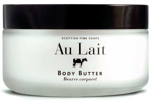 Scottish Fine Soaps Au Lait Enriching Body Butter Jar