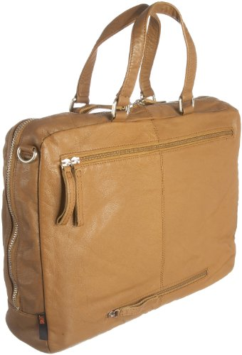 Jost ts 3910-002 Briefcases, Mallette mixte adulte - Caramel-V.1, Large Marron