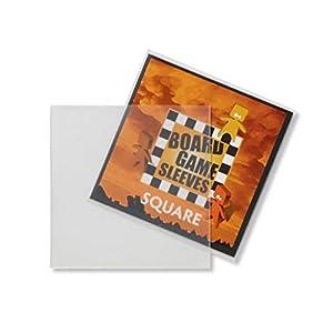 Arcane Tinmen ApS ART10429 - Juego de Cartas (69 x 69 mm, Cuadrado, sin Vidrio), diseño de Kartenspiel-Hülle/Quadratisch/Blendfrei, Transparente, 69 x 69 mm
