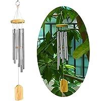 Hpybest Campanillas de Viento 6 Tubos de melodía, Campanas para jardín, decoración del hogar