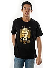 T-SHIRT OBEY DAVID LYNCH NOIR