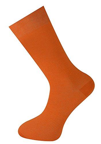 Mysocks Plain Sockchen , Orange , Gr. EU 35-39 (UK 4-6) Orange Elektronik