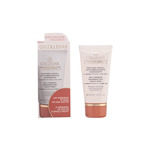 Collistar lozione anti-imperfezioni, perfect tanning regenerating face self-tanning mask, 50 ml