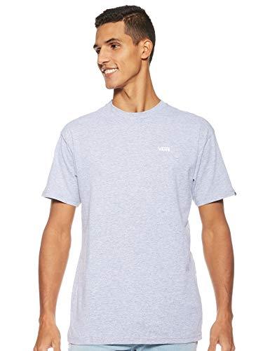 Vans Herren Left Chest Logo Tee T - Shirt, Grau (Athletic Heather), Medium