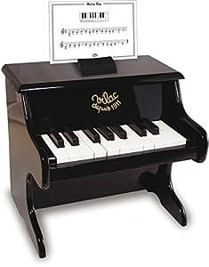 Vilac - Piano 18 Teclas con partituras, Color Negro (8296)