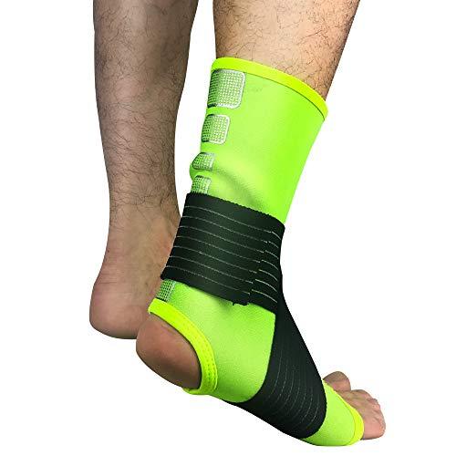 AYEMOY Tutore e Supporto per Caviglia e Piede, Ideale per affaticamenti e Sport Come Calcio, Baseball, Netball, pallavolo