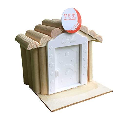 Toyvian DIY Building Cottage Hand zusammengebautes Fantasy Castle Gebäude Haus Kit Pädagogische Handgemachte Montage Modell Fantastic Castle