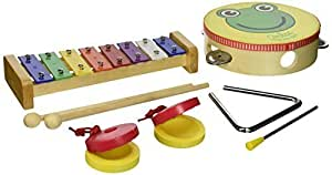 Vilac 7 Piece Musical Instrument Set by Vilac