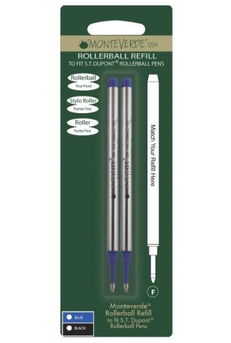 monteverde-recharge-pointe-fine-compatible-stylos-roller-st-dupont-bleu-lot-de-2