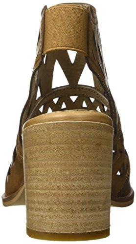 Bata 7643532 Sandali con Cinturino alla Caviglia, Donna Marrone chiaro