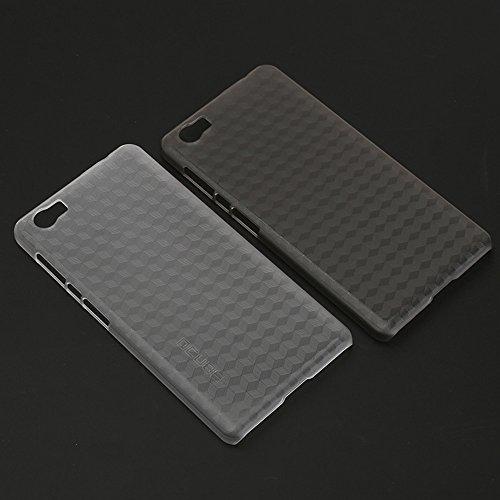 Frlife Hülle für Vernee Mars Pro Case Telefonkasten für Vernee Mars Pro Schutzhülle aus Hartplastik Durch