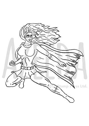 Azeeda A7 'Weiblicher Superheld' Stempel (Unmontiert) (SP00001170)