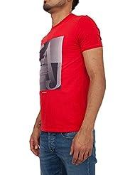 Camiseta ARMANI JEANS Hombre 3Y6T17 6J1FZ+1464 Rojo
