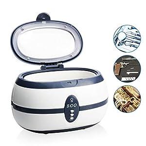REAQER Ultrasonic Cleaner Ultraschall Gerät Reiniger Reinigungsgerät für zuhause 600ML
