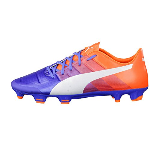 Puma Evopower 2.3 Fg, Chaussures de football homme blue yonder-puma white-shocking orange