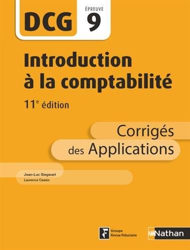 Introduction  la comptabilit - DCG 9 - 11e dition